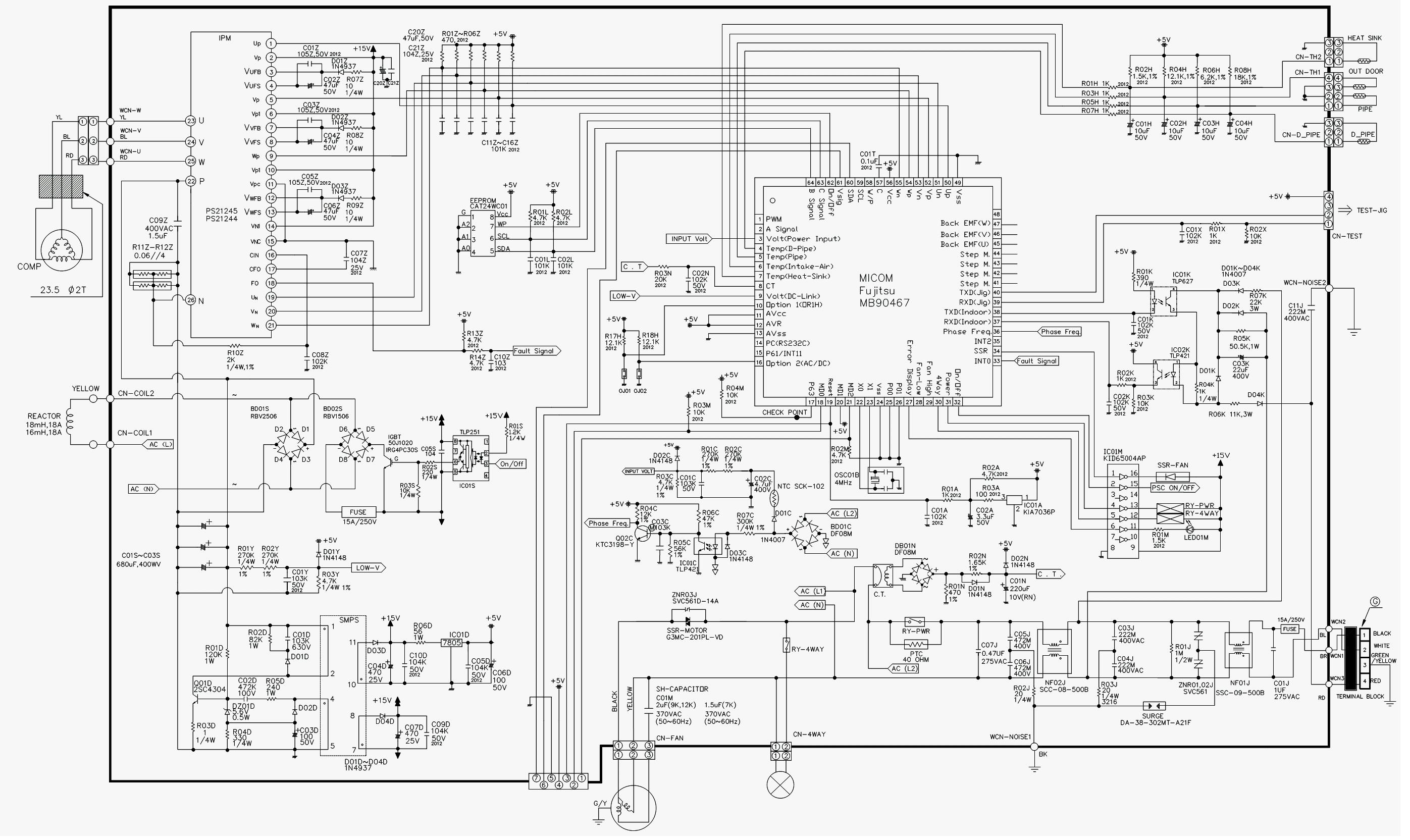 т 54 lh электрическая схема